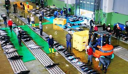銚子漁港魚市場