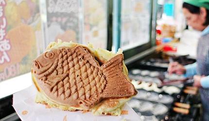 銚子電鐵觀音車站鯛魚燒