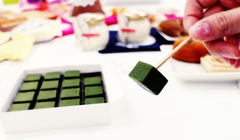 2017日本必買伴手禮抹茶巧克力