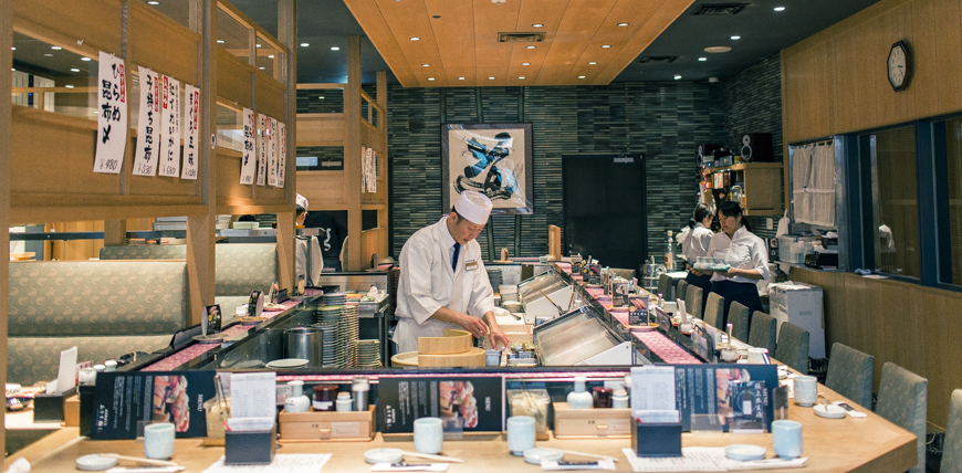 羽田機場必吃築地市場直送壽司生魚片ARISO SUSHIありそすし
