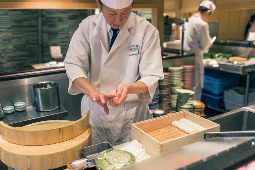 師傅握壽司