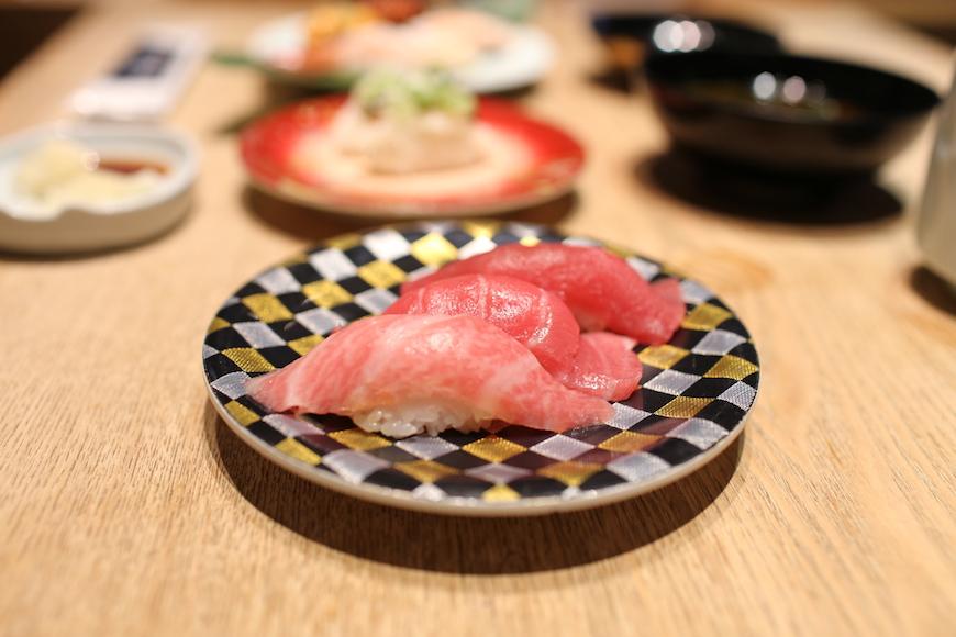 羽田機場必吃築地市場直送壽司生魚片鮪魚肚toro