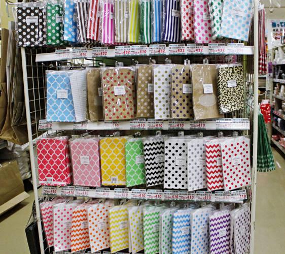 shimojimaシモジマ浅草橋下島包裝廣場淺草橋本店便宜划算CP值高可愛紙袋