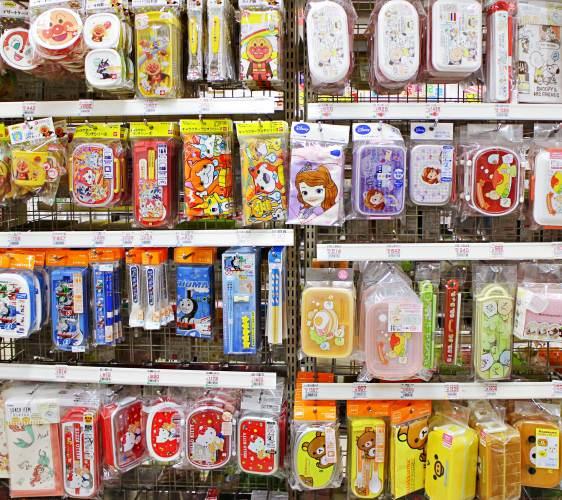 日本卡通便當盒
