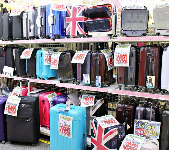 shimojimaシモジマ浅草橋下島包裝廣場淺草橋本店爆買的話也可馬上買行李箱