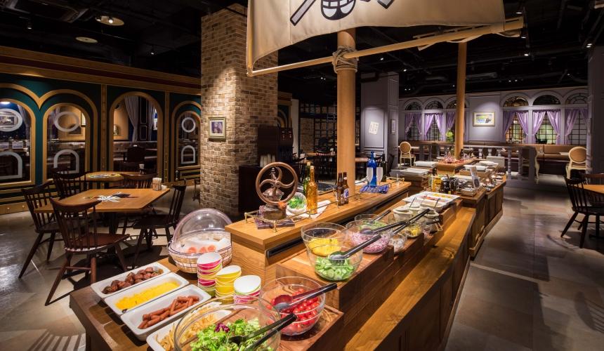 東京航海王鐵塔香吉士的俺家餐廳