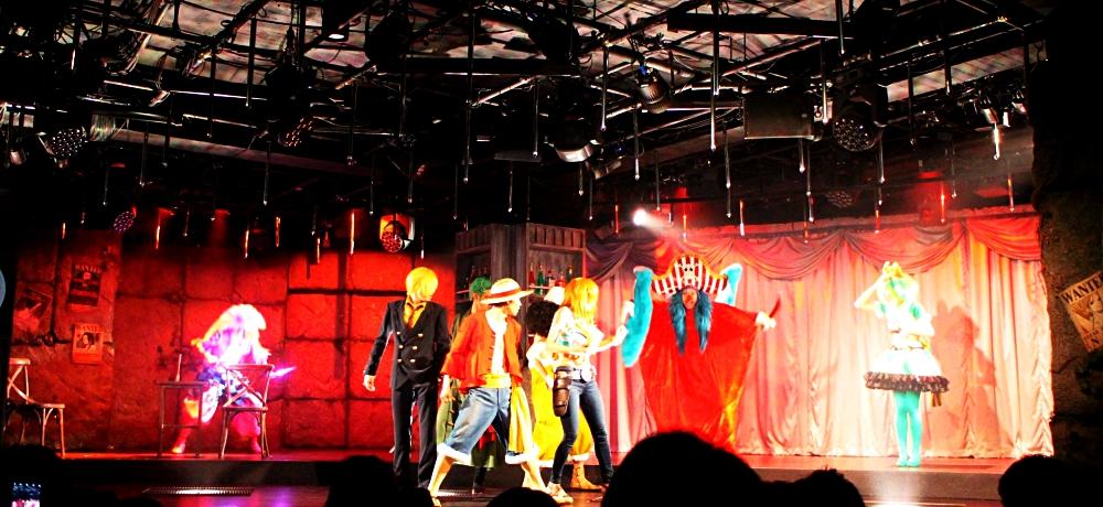 東京鐵塔必去航海王主題樂園劇場PHANTOM很熱血