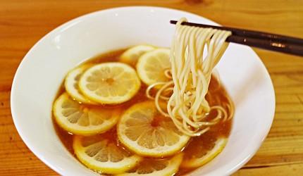 東京必吃水果拉麵推薦:檸檬拉麵りんすず食堂