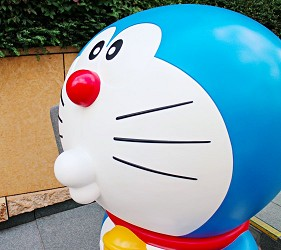 2017夏東京六本木哆啦A夢66隻