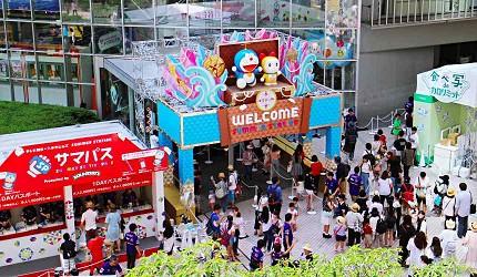 2017夏東京六本木哆啦A夢朝日電視台