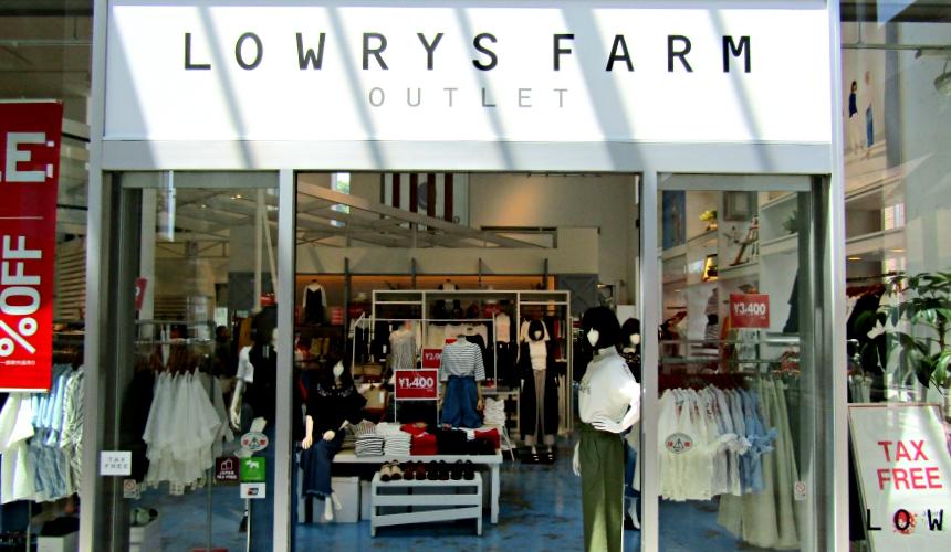 輕井澤outlet LOWRYS FARM