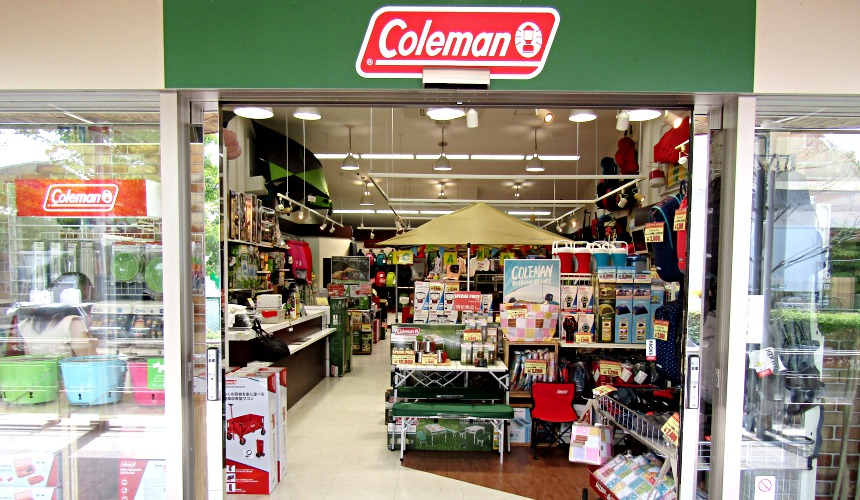 輕井澤outlet Coleman Shop