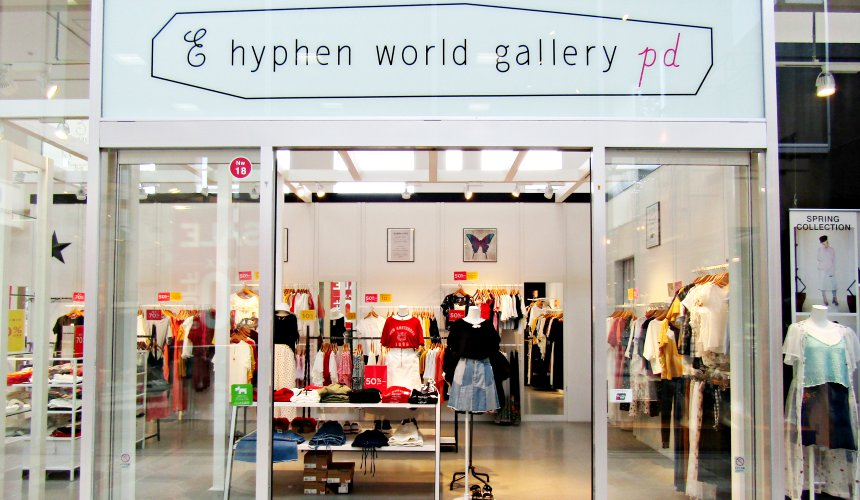 輕井澤outlet E hyphen world gallery