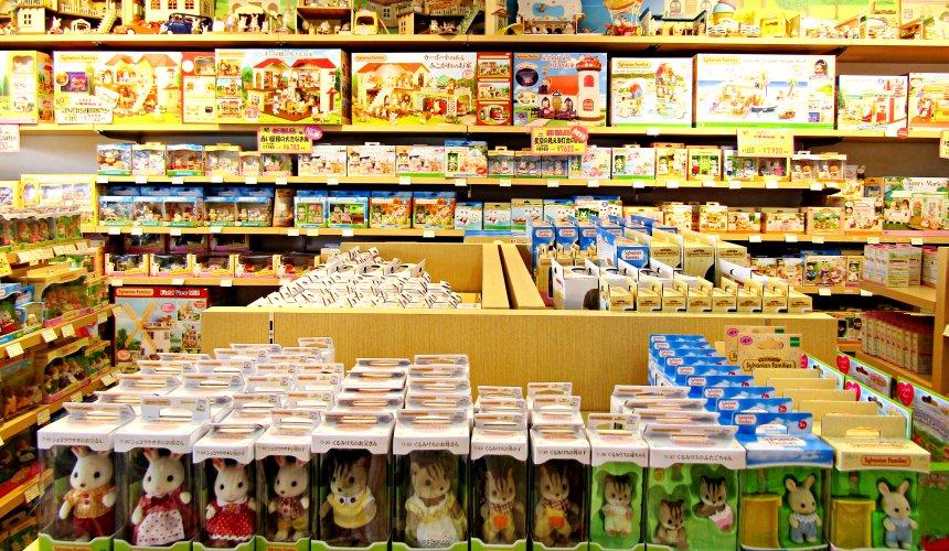 輕井澤outlet Sylvanian Familiesn森林家族店內商品眾多
