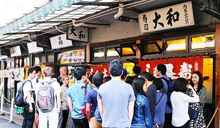 築地市場大和壽司排隊東京自由行觀光計程車服務Tokyo Taxi Tours