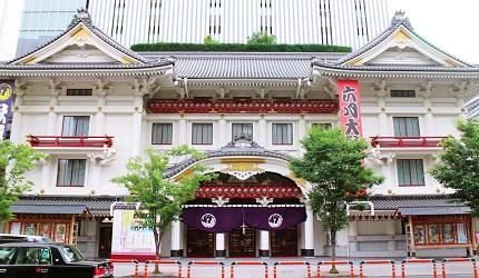 銀座歌舞伎座東京自由行觀光計程車服務Tokyo Taxi Tours
