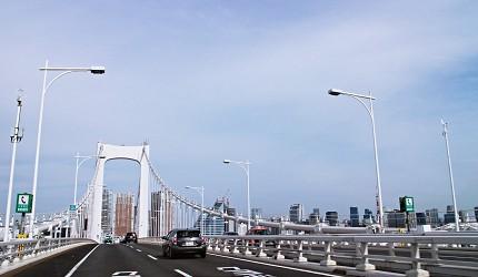 彩虹大橋台場東京自由行觀光計程車服務Tokyo Taxi Tours