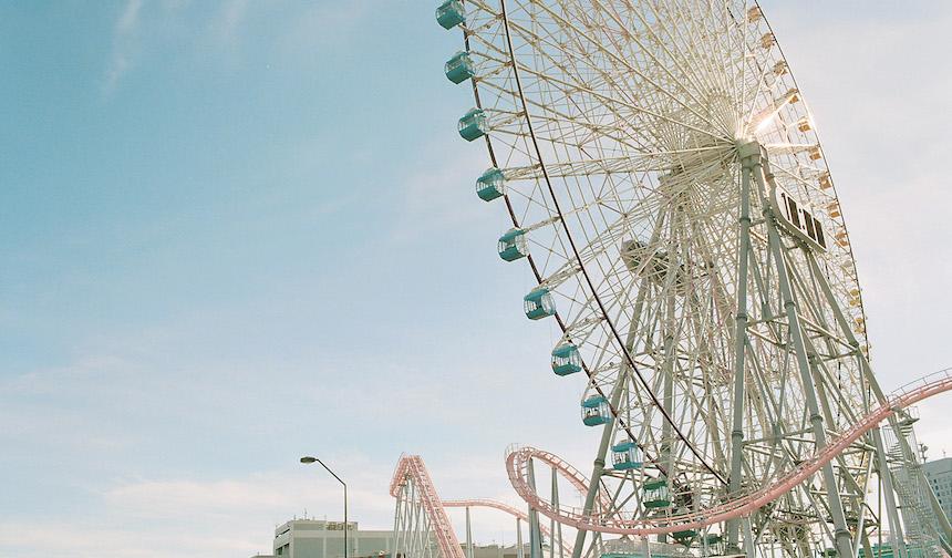 橫濱地標摩天輪