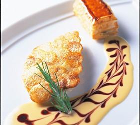Maison Paul Bocuse イトヨリ鯛のポワレ ジャガイモのクルスティヤン ウロコ仕立て