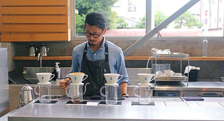 日本東京自由行必訪手沖咖啡推薦人氣店家清澄白河藍瓶bluebottlecoffee