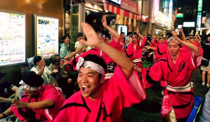 東京高圓寺阿波舞祭典熱鬧非凡