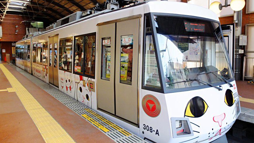 東京東急電鐵世田谷線幸福招財貓電車