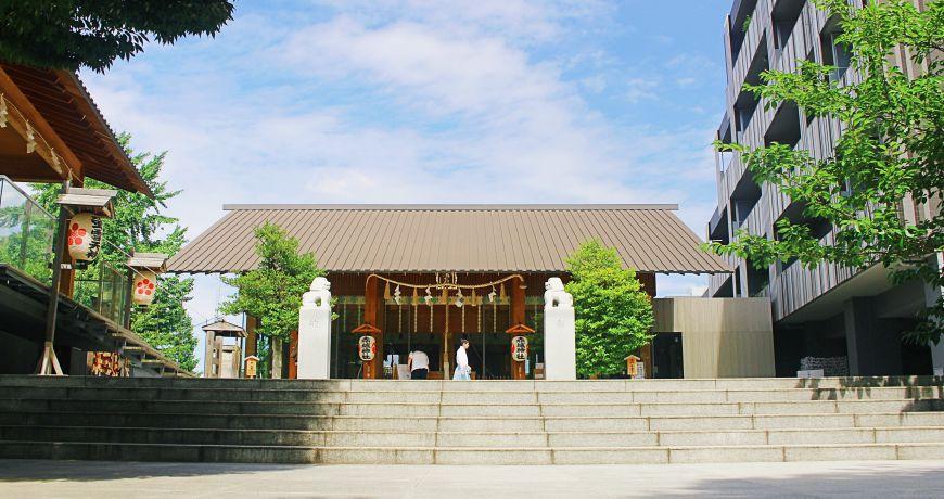 日本自由行東京一日遊景點行程安排推薦設計建築迷必訪神樂坂赤城神社