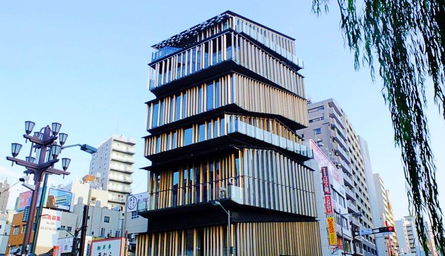 日本自由行東京一日遊景點行程安排推薦設計建築迷必訪隈研吾作品淺草觀光文化中心