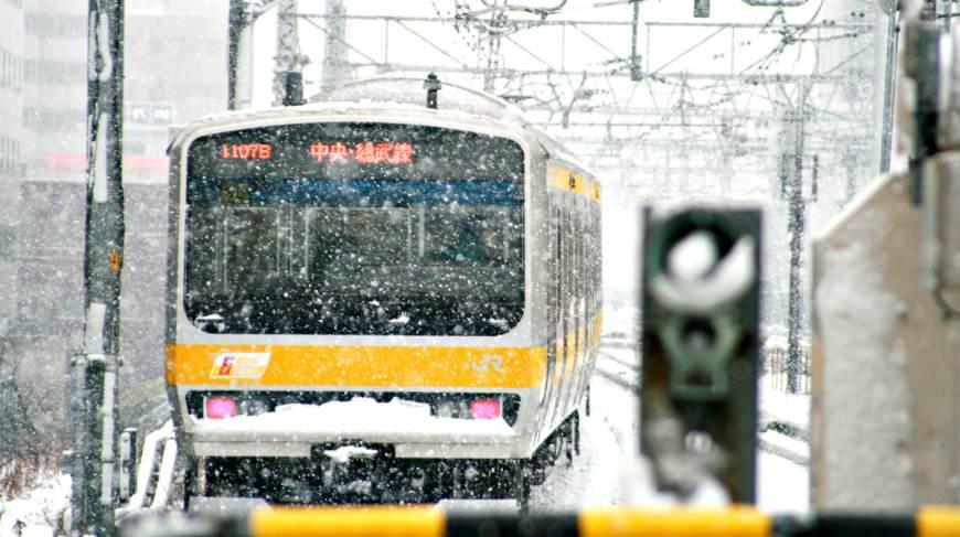 日本全國自由行東京23區電車JR中央線小故事
