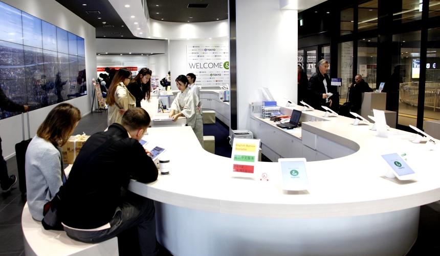 東京観光情報中心Busta新宿