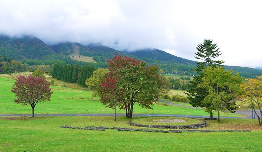 長野信濃町的黑姬高原