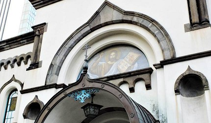 御茶之水尼古拉堂八端十字