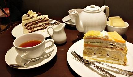 HARBS蛋糕和紅茶