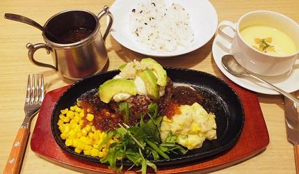 上野漢堡排北海道來的「くろまる」漢堡排