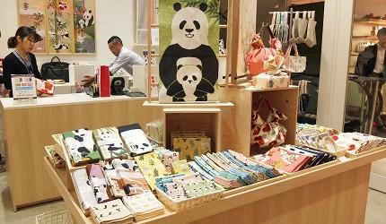 「濱文樣」有豐富的熊貓商品和日式小物