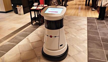 會帶位的機器人「Siriusbot」