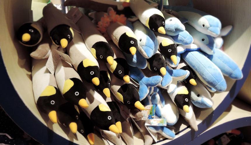東京水族館樂園「Maxell Aqua Park 品川」人氣紀念品娃娃