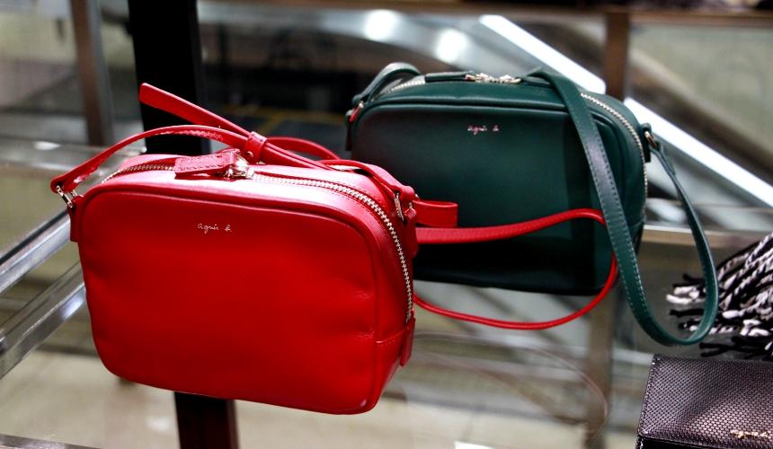 東武百貨店池袋店的agnès b.包包背包
