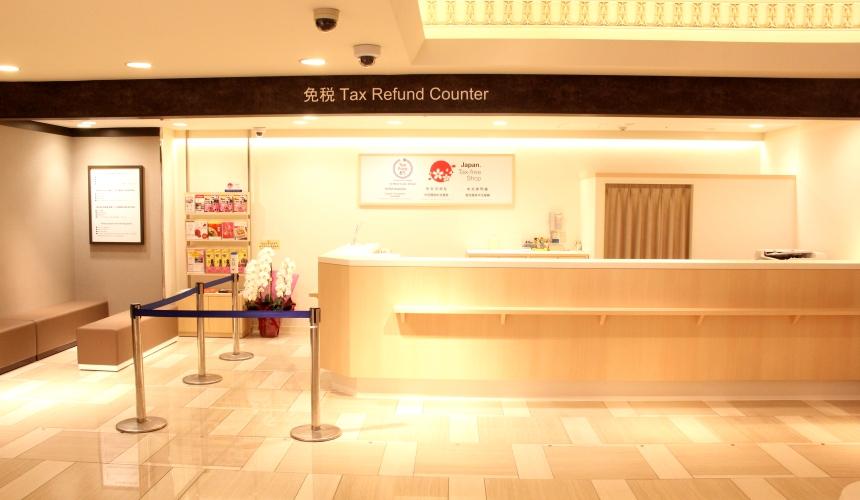 東武百貨店池袋店2樓免稅櫃檯