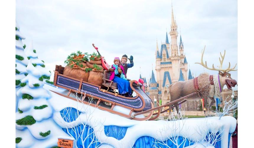 2018東京迪士尼樂園特別活動「安娜與艾莎的冰雪夢幻」的冰雪夢幻大遊行(フローズンファンタジーパレード)