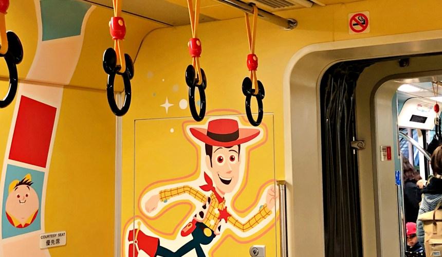2018東京迪士尼海洋特別活動「皮克斯遊戲時間」期間東京迪士尼度假區線可愛的皮克斯彩繪塗裝