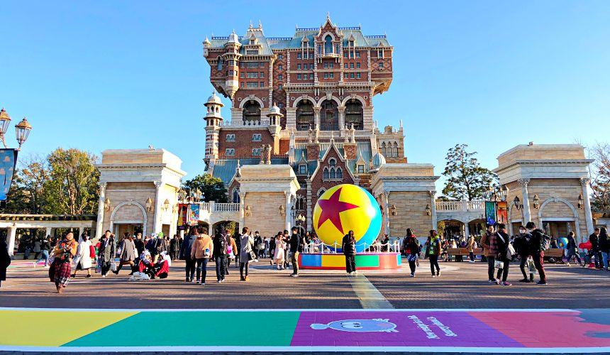 2018東京迪士尼海洋特別活動「皮克斯遊戲時間」期間可愛的皮克斯園區裝飾