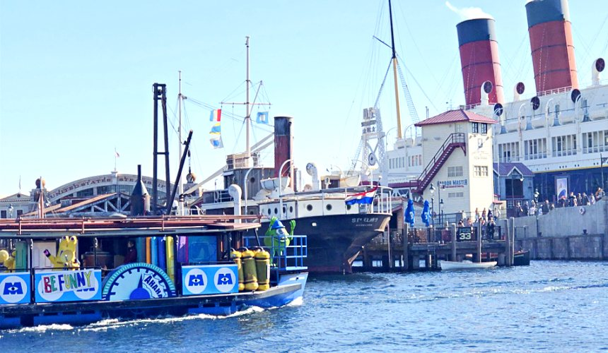 2018東京迪士尼海洋特別活動「皮克斯遊戲時間」的皮克斯好友水上巡遊(ピクサーパルズスチーマー)