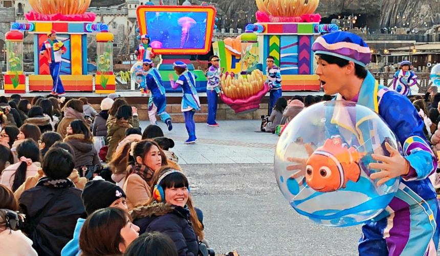 2018東京迪士尼海洋特別活動「皮克斯遊戲時間」的皮克斯好友來遊戲(ピクサープレイタイムパルズ)