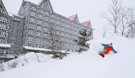 日本東京推薦冬天滑雪推薦長野白馬CORTINA粉雪鬆軟好滑
