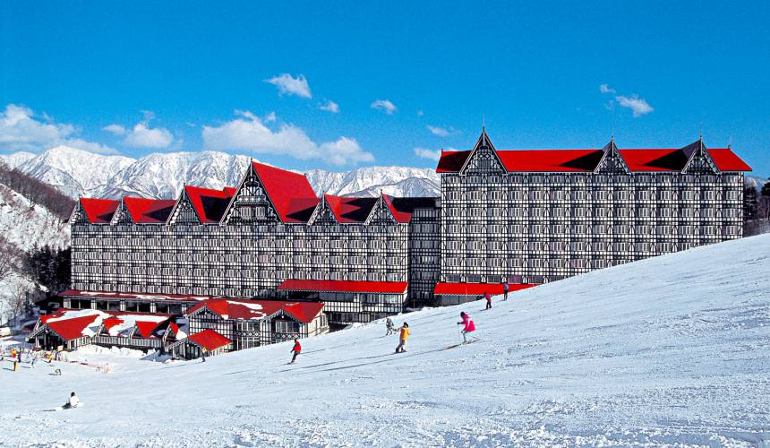 長野白馬CORTINA滑雪場HOTEL GREEN PLAZA HAKUBA