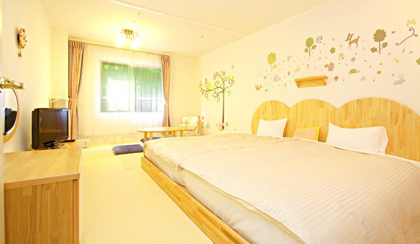 日本輕井澤「HOTEL GREEN PLAZA 輕井澤」升級版寶寶專用房型(赤ちゃんプランハピネスルーム)