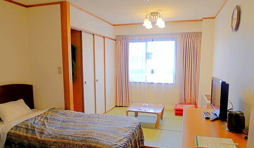 日本輕井澤「HOTEL GREEN PLAZA 輕井澤」家庭用房型(和洋室)