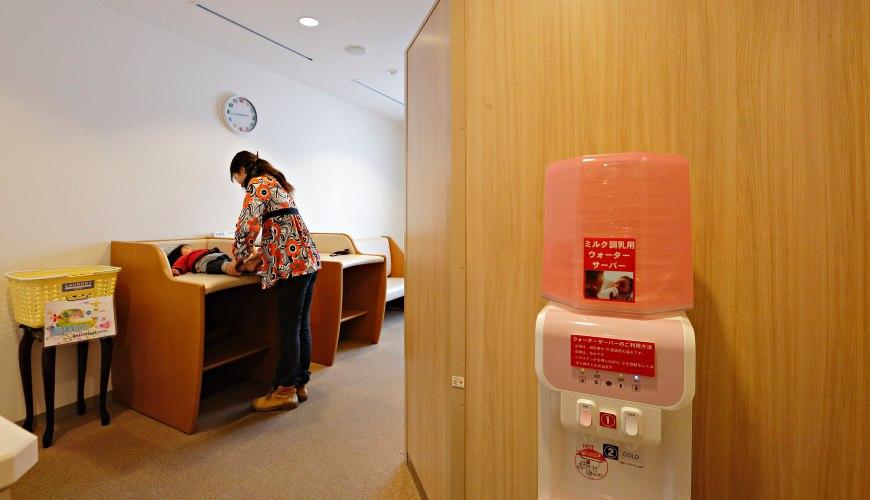 日本輕井澤「HOTEL GREEN PLAZA 輕井澤」飯店內哺乳室