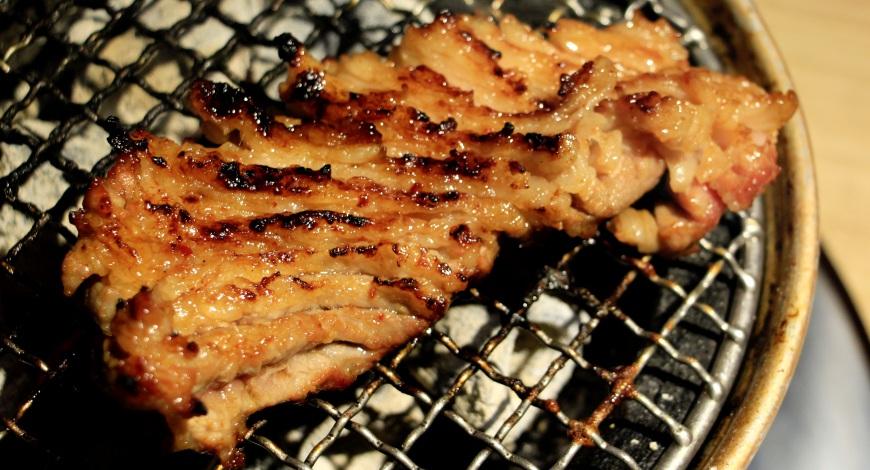 燒肉風風亭網花狀長條五花肉(すだれカルビ)